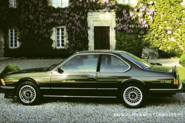 1982→1982 Alpina B7 S Turbo Coupé