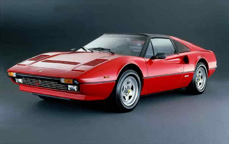 1977→1980 Ferrari 308 GTS