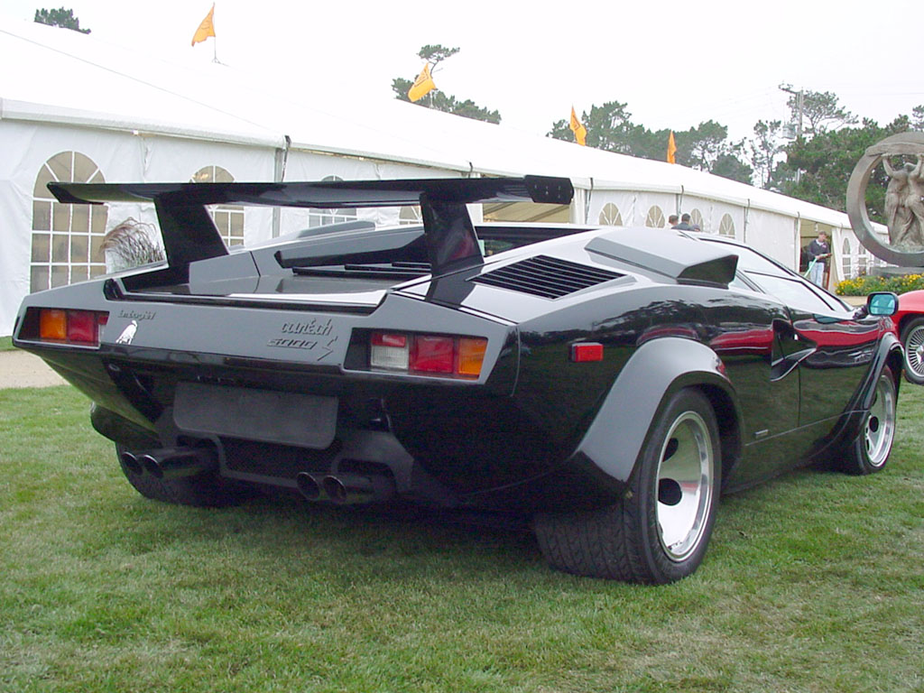 1982 1985 Lamborghini Countach Lp5000s Supercars Net