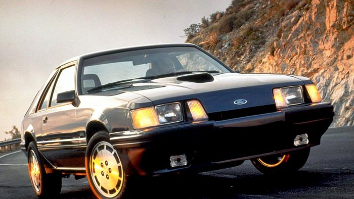 1983 Ford Mustang SVO