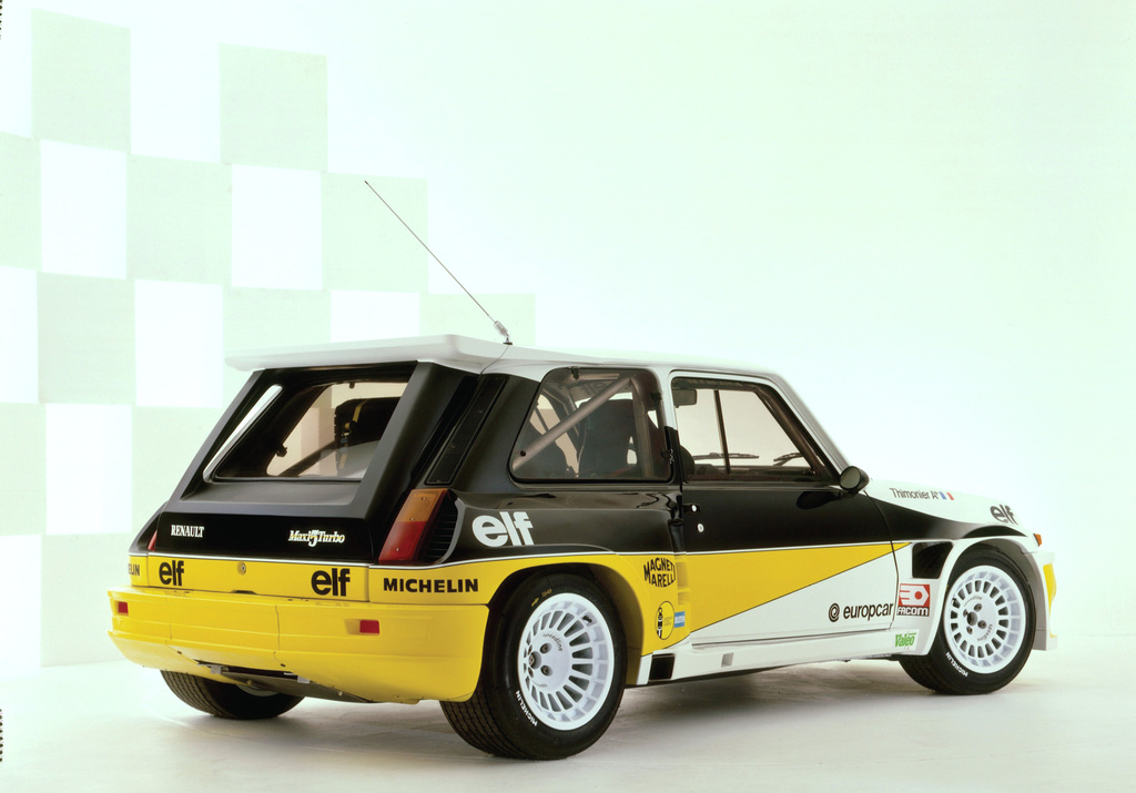 1984 renault 5 maxi turbo renault. Black Bedroom Furniture Sets. Home Design Ideas