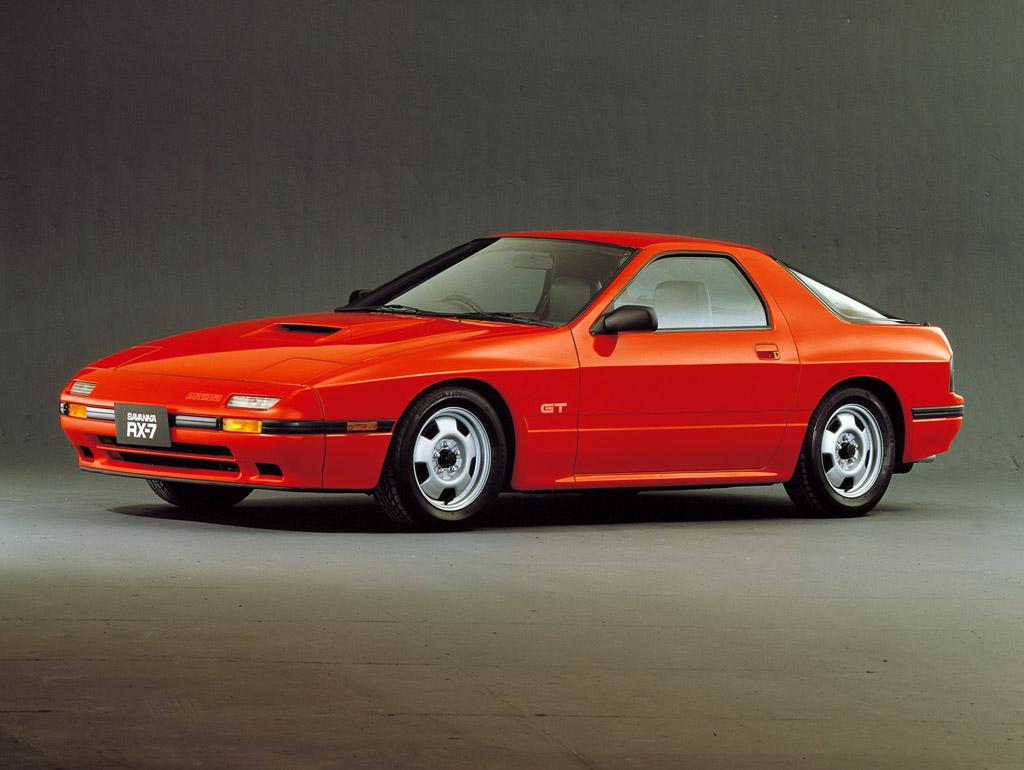 1986→1988 Mazda Savanna RX-7 GT