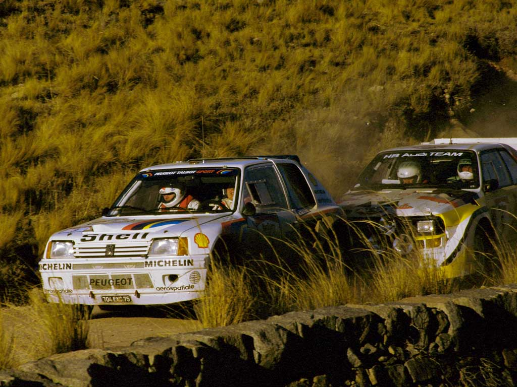 1985 Peugeot 205 T16 Group B