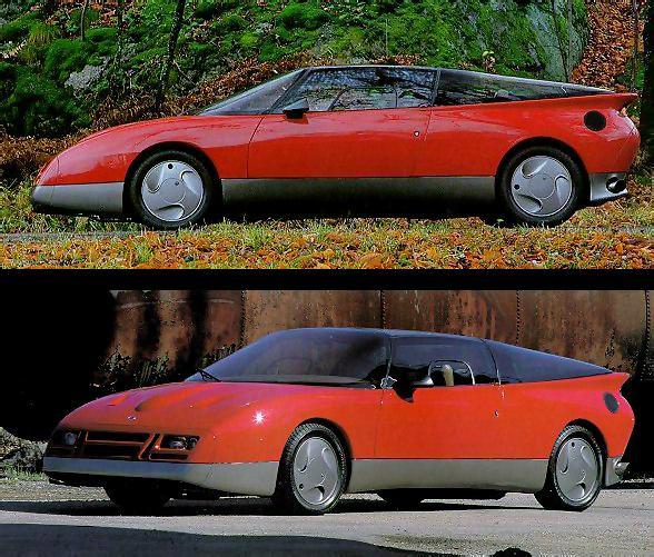 1985 Saab 900 Turbo Ev 1 Concept Saab Supercars Net