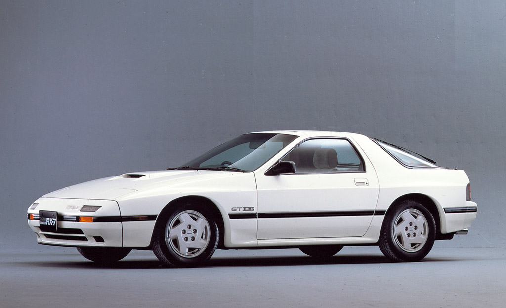 1986 1988 Mazda Savanna Rx 7 Gt Limited Review