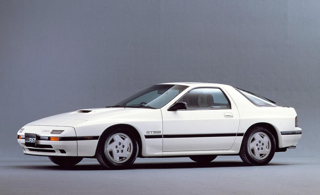 1986→1988 Mazda Savanna RX-7 GT Limited
