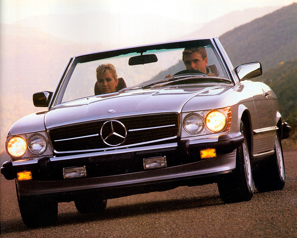 1986 1989 mercedes benz 560 sl review. Black Bedroom Furniture Sets. Home Design Ideas
