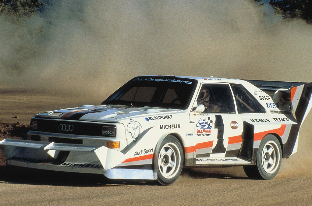 1987 audi sport quattro s1 pikes peak audi. Black Bedroom Furniture Sets. Home Design Ideas