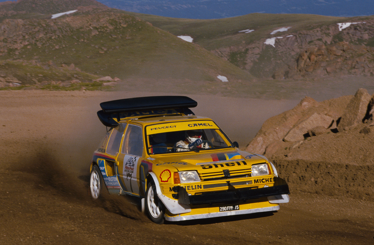 1987 peugeot 205 t16 pikes peak peugeot. Black Bedroom Furniture Sets. Home Design Ideas