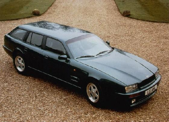 1992 1993 Aston Martin Virage Shooting Brake Supercars Net