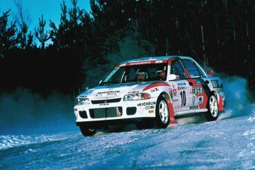1994 Mitsubishi Lancer Evolution II Group A