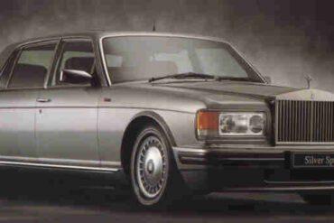 1994→1998 Rolls-Royce Silver Spur IV
