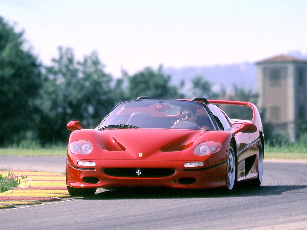 1995→1997 Ferrari F50