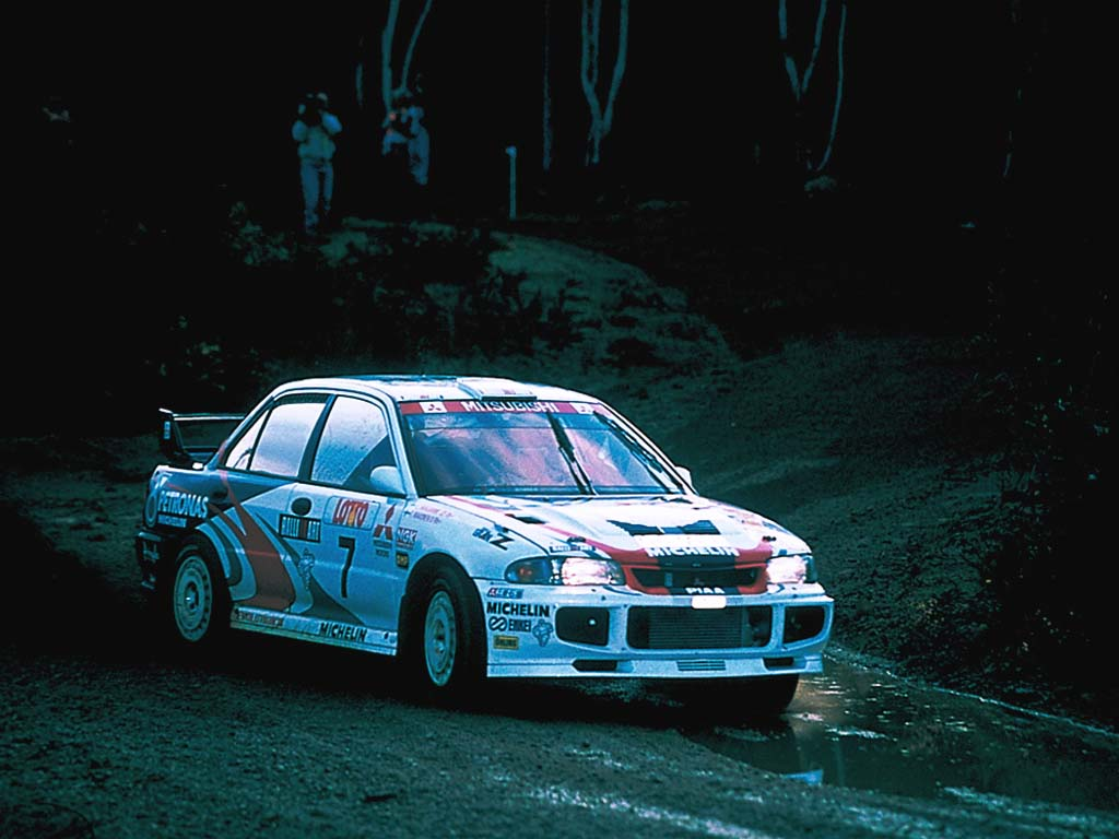 1995 Mitsubishi Lancer Evolution III Group A