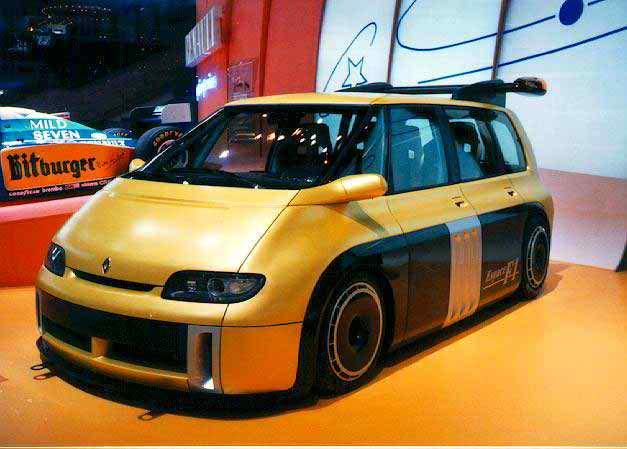 1995 Renault Espace F1 Concept Review Supercars Net
