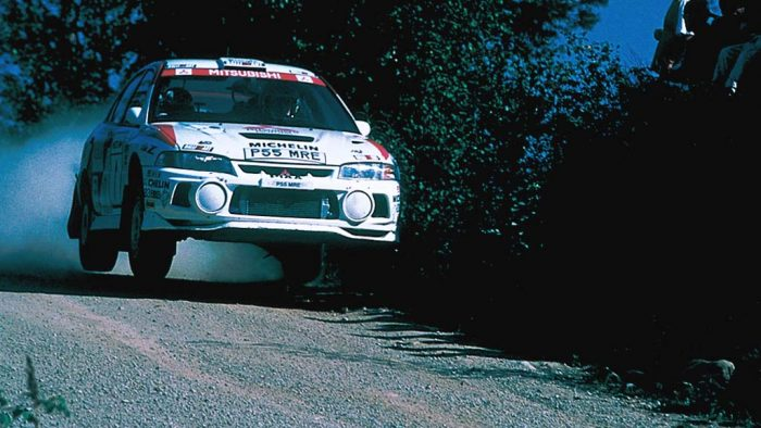 1997 Mitsubishi Lancer Evolution IV Group A