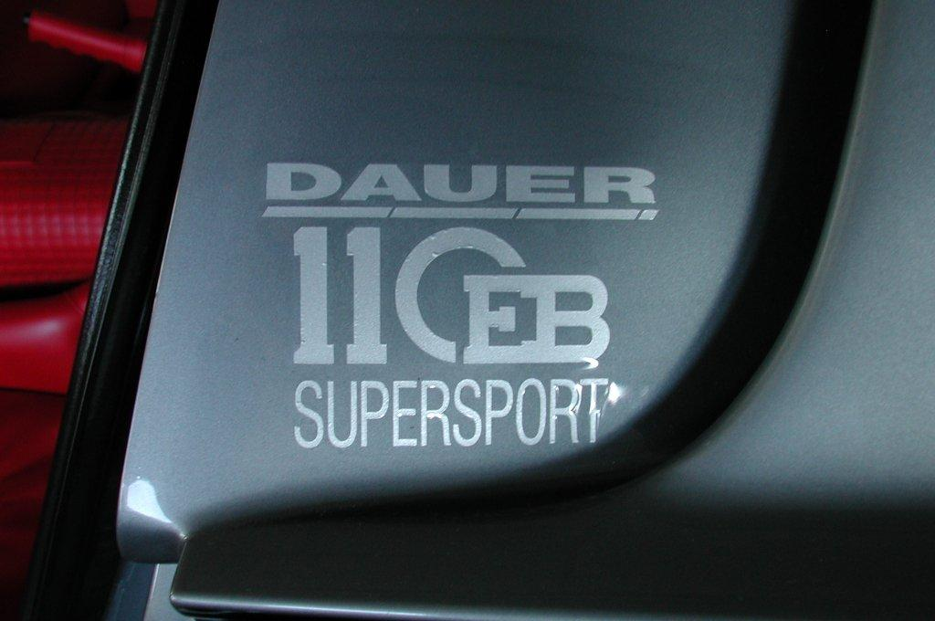 1998→2007 Dauer EB 110 Supersport
