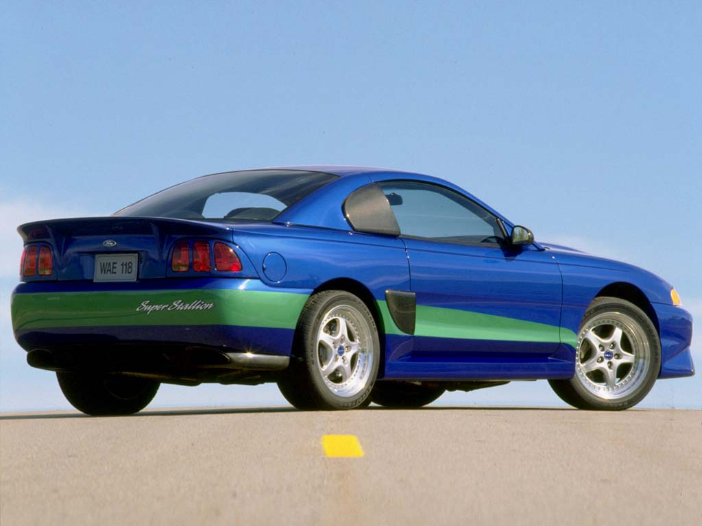 1998 Ford Mustang Super Stallion Concept