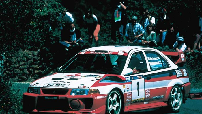 1998 Mitsubishi Lancer Evolution V Group A