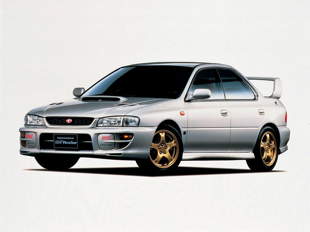 1998 Subaru Impreza WRX STi Version V