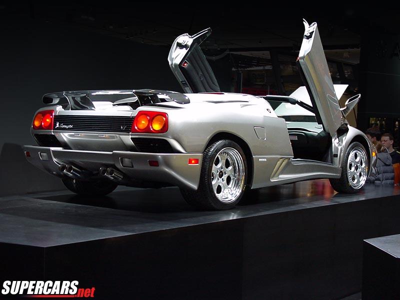 2000 Lamborghini Diablo Vt Roadster Millennium
