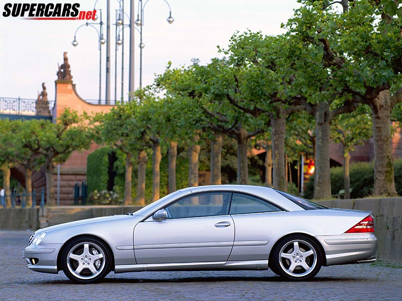 2000 mercedes benz cl55 amg f1 review for Mercedes benz f1