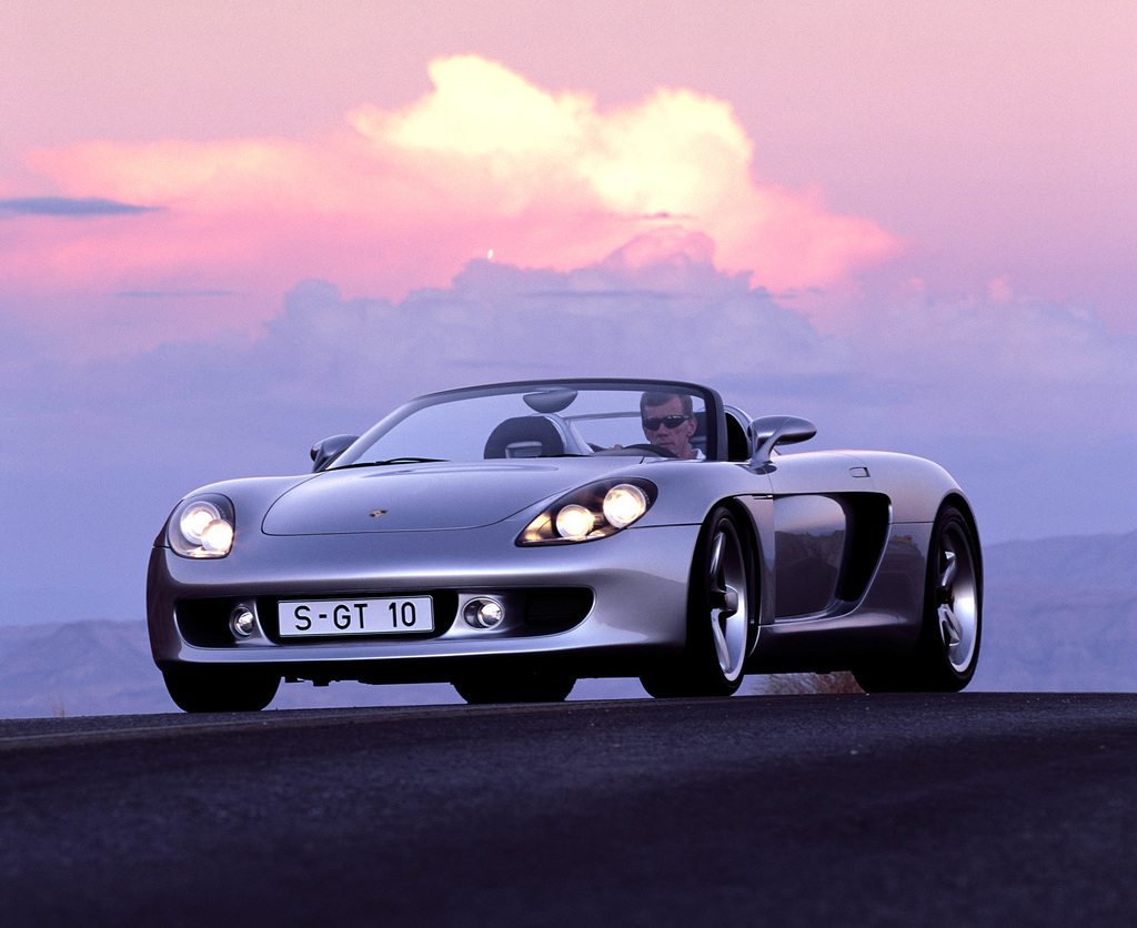 2000 porsche carrera gt concept. Black Bedroom Furniture Sets. Home Design Ideas