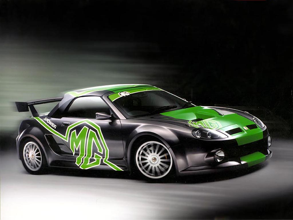 2001 MG F XPower 500 Concept