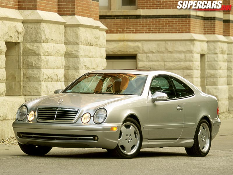 2001 mercedes benz clk55 amg coupe review for Mercedes benz clk55 amg