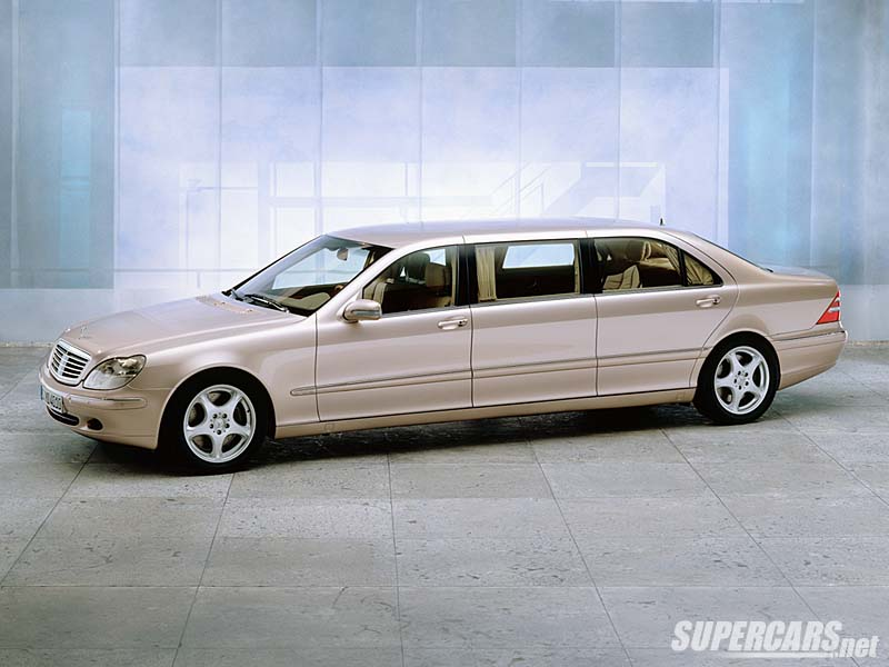 2001 mercedes benz s 600 pullman amg review for Mercedes benz s 600 amg
