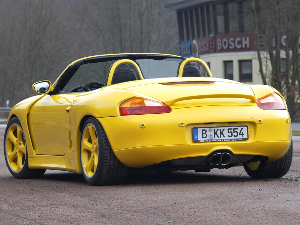 2001 TechArt Boxster S Widebody