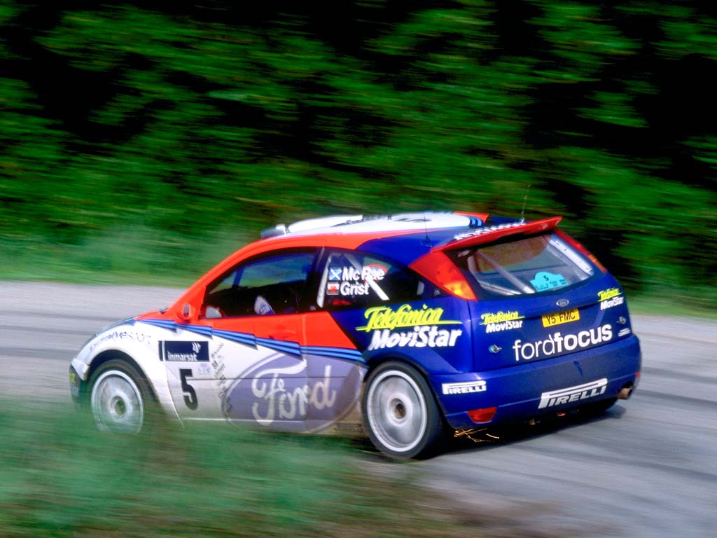 Ford Focus Rally Car Specs