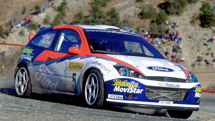 2002 Ford Focus Rs Wrc Ford Supercars