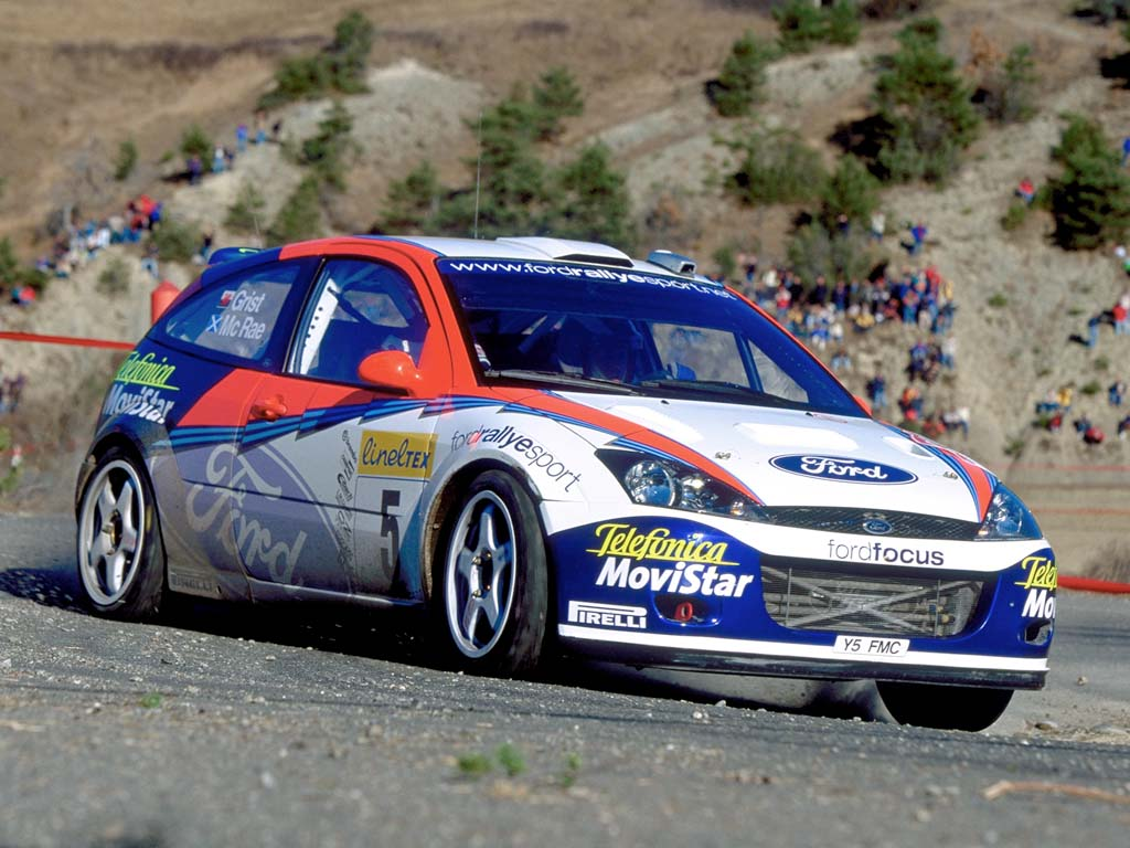 2002 Ford Focus RS WRC - Supercars.net