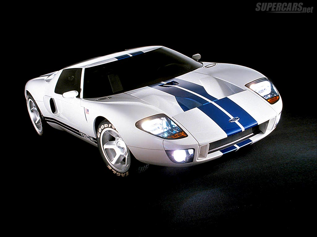 2002 Ford Gt40 Concept Ford Supercars Net