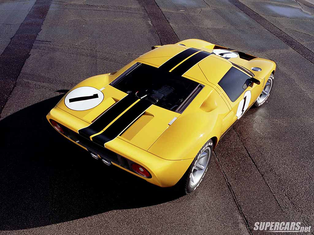 2002 Ford GT40 Concept