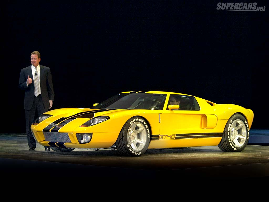 2002 ford gt40 concept ford. Black Bedroom Furniture Sets. Home Design Ideas