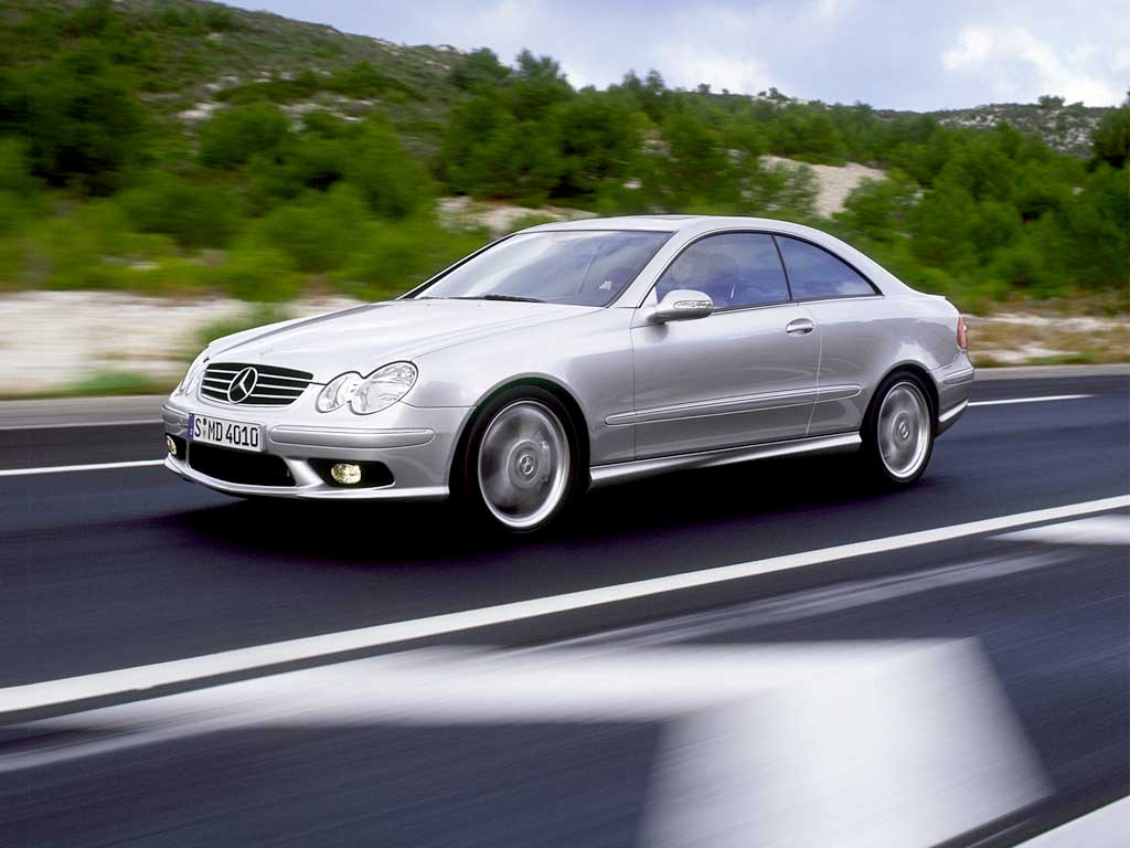 2002 mercedes benz clk 55 amg review
