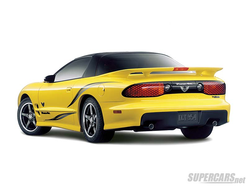 2002 Pontiac Firebird Trans Am Collector S Edition