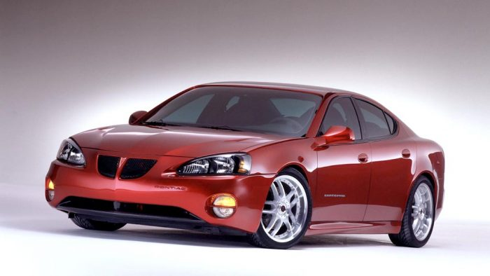 2002 Pontiac Grand Prix G-Force Concept