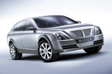 2002 Rover TCV Concept