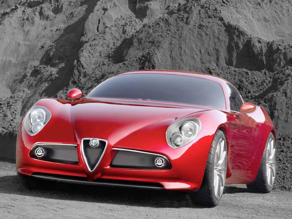 2003 Alfa Romeo 8c Competizione Concept Alfa Romeo