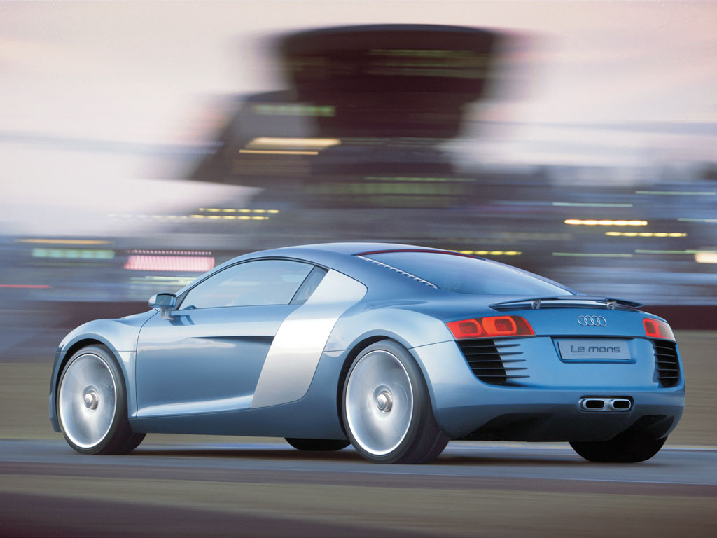 Story by audi edited by supercars net 2003 audi le mans quattro concept