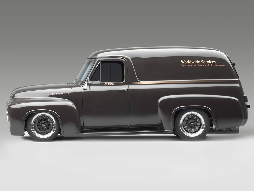 2003 Ford Fr100 Panel Concept 1948 Truck