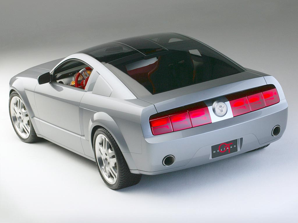 2003 ford mustang gt coupe concept. Black Bedroom Furniture Sets. Home Design Ideas