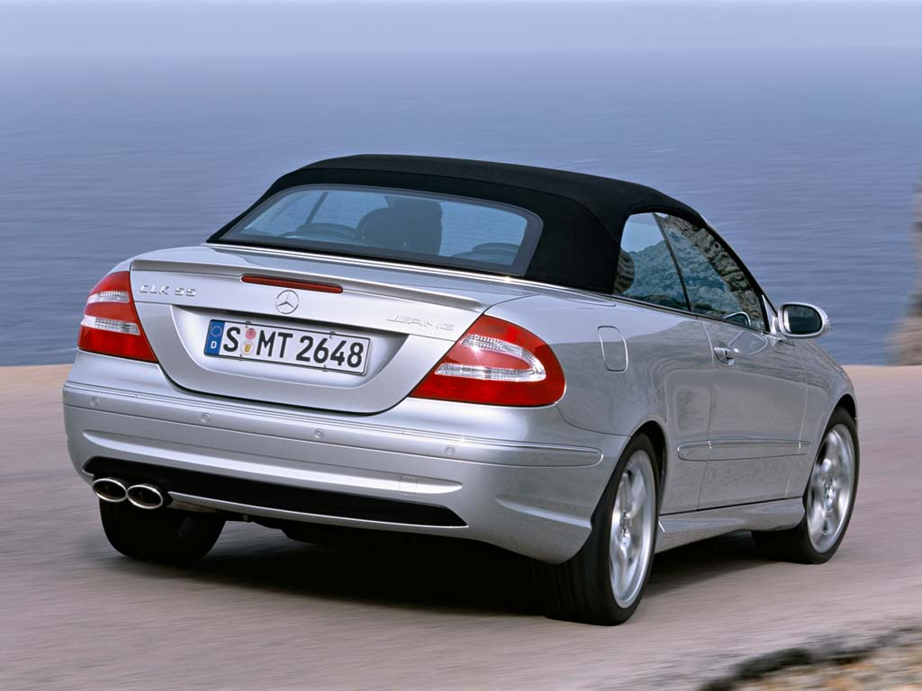 2003 mercedes benz clk 55 amg cabriolet review. Black Bedroom Furniture Sets. Home Design Ideas