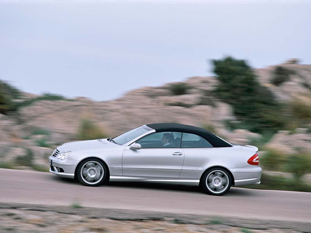 2003 mercedes benz clk 55 amg cabriolet review for Mercedes benz 2003