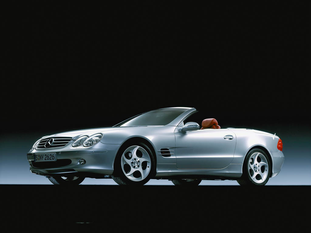 2003 mercedes benz sl 350 mille miglia edition review. Black Bedroom Furniture Sets. Home Design Ideas