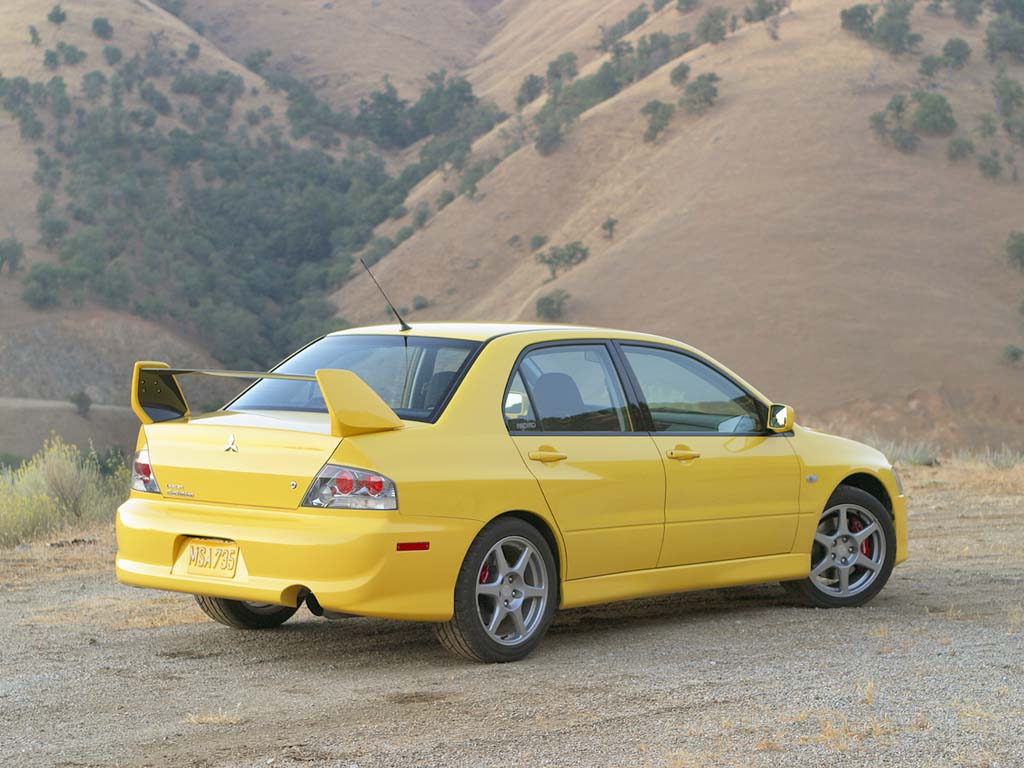 2003 mitsubishi lancer evolution viii review. Black Bedroom Furniture Sets. Home Design Ideas
