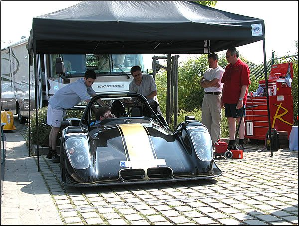 2003 Radical SR3 Turbo
